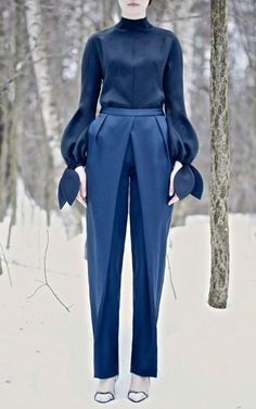 Vika Gazinskaya Fall 2013 - pants