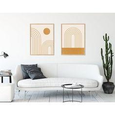 Toko Online kemmayu | Shopee Indonesia Neutral Walls, Sun Art, Rainbow Art, Print Store, Printable Wall Art, Boho Decor, Gallery Wall, Furniture, Home