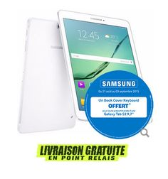 Tablette SAMSUNG Galaxy Tab S2 9.7 (SM-T810) Blanc pas cher prix promo Tablette Grosbill 499.00 € Un Book, Galaxies, La Galaxy, Samsung Galaxy Tablet, Samsung Tabs, Computer Science