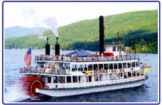 Lake George Steamboat Co. - Boat Cruises & Tours on Lake George NY Lake George Ny, Love Is Gone, Steamboats, Cruises, Us Travel, New England, Childhood Memories, Summertime, Beautiful Places