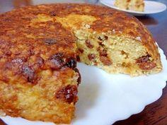 「バナナヨーグルトのもっちりオートミールプディング❤」簡単!ぐるぐる~っと混ぜるだけ♪炊飯器で作るもっちり食感のプディングケーキです。アツアツ出来立ても、冷しても美味(*^m^*)♡【楽天レシピ】