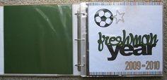 School Sports Album - awesome!