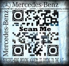 The Best or Nothing.  Mercedes-Benz + QR Code  Order your custom QR Code with us…