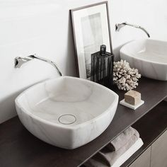 Marble sensation from NEUTRA, available at Pure Interiors. #bathroom #basin…