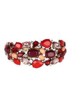 Large Deco Cuff Bracelet by Office Chic: Jewelry Picks on @HauteLook