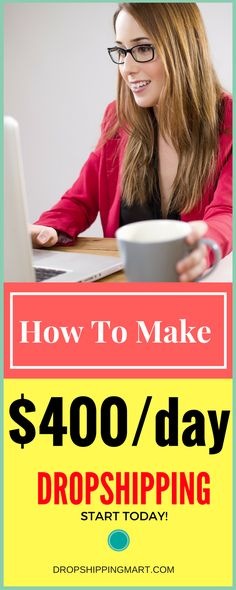 Dropshipping business is the one of best side hustle. It doesn't take a lot of time and it's a great way to make money from home. It's perfect for people working a nine to five or busy staying home moms. Work From Home Jobs, Make Money From Home, Way To Make Money, Make Money Online, How To Make, Starting An Online Boutique, Dropshipping Suppliers, Drop Shipping Business, Home Based Business