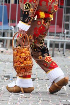 Carnival of Binche, Hinaut province, Belgium