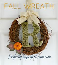 Perfectly Imperfect: DIY: Fall Wreath