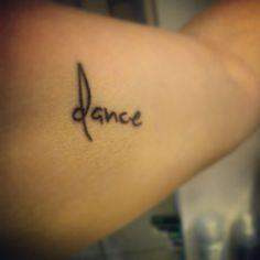 dance tattoo ♥