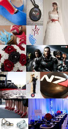 Mass Effect Inspiration Board