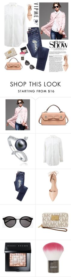 """""""Picture show"""" by sabinakopic ❤ liked on Polyvore featuring Brunello Cucinelli, Ava & Aiden, SANCHEZ, Yves Saint Laurent, Michael Kors, Bobbi Brown Cosmetics, Topshop, women's clothing, women and female"""