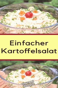 #Potato #salad #recipes #einfacher #kartoffelsalat Einfacher Kartoffelsalatbrp classfirstletterWe create our page for the einfacher TopicPlease scroll down with the highest content about einfacherpCharacteristic of The Pin Einfacher KartoffelsalatbrThe pin registered in the Einfacher board is selected from among the pins with high impression quality and suitable for use in different areas Instead of wasting time between a huge count of different option on Pinterest it will save you time to… Potatoe Dinner Recipes, Sweet Potato Recipes Healthy, Baked Potato Recipes, Easy Chicken Recipes, Soup Recipes, Salad Recipes, Loaded Baked Potato Salad, Creamy Potato Salad, American Potato Salad