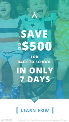 Back to school can be a busy, stressful, and EXPENSIVE time of year. That makes it an ideal time to get reorganized and save some money! Get started with this FREE 7-day email program to help you stash away $500 - in one week!
