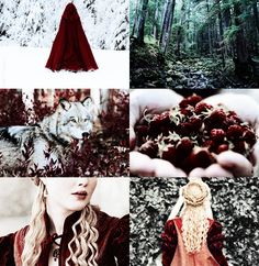 FAIRY TALES MEME  »  LITTLE RED RIDING HOOD by Brothers Grimm