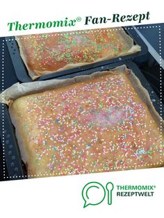 Saftige Variation: Einfacher Fantakuchen (Kindergeburtstag) Juicy variation: simple fan cake (children's birthday party) by A Thermomix ® recipe from the category baking sweet www.de, the Thermomix ® community. Weight Loss Eating Plan, Cooking With Kids, Easy Desserts, Vanilla Cake, Make It Simple, Food And Drink, Baking, Mascarpone Creme, Pastries
