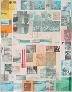 ROBERT RAUSCHENBERG - RUSH 3 - ROBERT FONTAINE GALLERY http://www.widewalls.ch/artwork/robert-rauschenberg/rush-3/ #mixedmedia