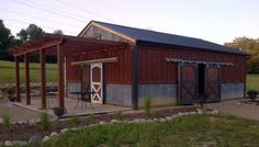 Cool outside barn idea for extra tool shed or workshop