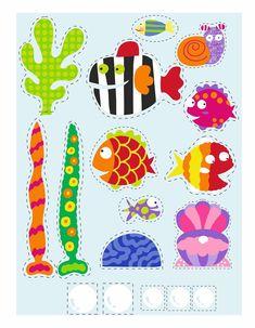 Valentine Day Crafts, Valentines, Ocean Party, Valentine's Day Crafts For Kids, Preschool Activities, Paper Crafts, Nursery, Clip Art, Kids Rugs