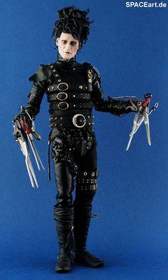 Edward mit den Scherenhänden: Edward, Fertig-Modell, http://spaceart.de/produkte/ems002.php