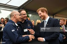 Prince Harry talks to guests during a function at Admiralty House on June 7, 2017 in Sydney, Australia. Prince Harry is on a two-day visit to Sydney for the launch of the Invictus Games Sydney 2018. The fourth Invictus Games will be held in Sydney from 20th to 27th October, 2018 and will include over 500 competitors from 17 nations competing in 10 adaptive sports events. (Photo by Louise Kennerley/Fairfax Media - Pool/Getty Images)