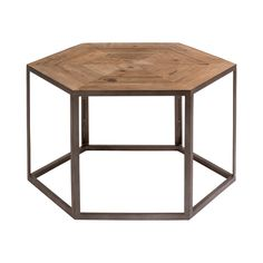 Enjoy weekend drinks with your closest friends at this charming contemporary cocktail table. Gorgeously crafted with stunningly bleached and pieced pine wood, this Gonzo Cocktail Table features a strik...  Find the Gonzo Cocktail Table, as seen in the A Road Trip Up the California Coast Collection at http://dotandbo.com/collections/a-road-trip-up-the-california-coast?utm_source=pinterest&utm_medium=organic&db_sku=111867
