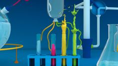 The lab. Creating a happy planet. by Gemma Alguacil, via Behance
