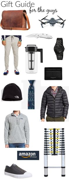Gift Guide for the GUYS! Some ideas for what to get for the men on your list, with input from a guy! | gift ideas for men | Christmas gifts for me | holiday gift ideas for men | gift ideas for him | Christmas gifts for him | holiday gift ideas for men || Katie Did What