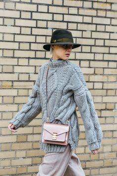 ¿Quién dijo frío? Adiós a los abrigos (y a las mantas y capas) #streetstyle en la Fashion Week