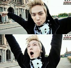 Himchan being adorable