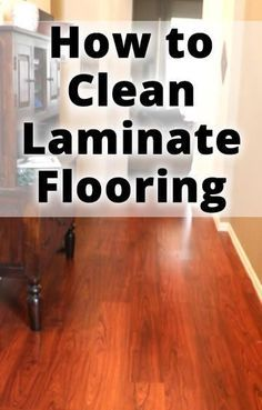 After trying everything from Vinegar to Murphy's Oil, this mom finally found her answer to how to clean laminate floors! Deep Cleaning Tips, House Cleaning Tips, Diy Cleaning Products, Cleaning Solutions, Spring Cleaning, Cleaning Hacks, Diy Hacks, Cleaning Recipes, Cleaning Supplies