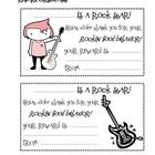 This is a free preview of my classroom management system Our Rockin Behavior Plan. It is a set of reward cards with a rock-star theme that can b...