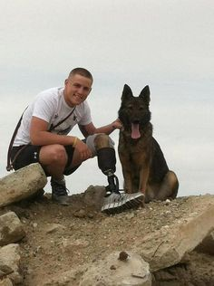 "When Lance Cpl. Jeremy Vanhoose served over in Afghanistan with his German Shepherd Imi, the pair detected bombs. Vanhoose joined the Marines shortly after high school, leaving behind his childhood sweetheart and fiance Kacy and his family. He trained and worked with canines used for detecting IED bombs while on patrol. Ultimately, Jeremy was paired with Military War Dog (MWD) Imi, and the pair was deployed to Afghanistan in May 2011. ""The first week of..."