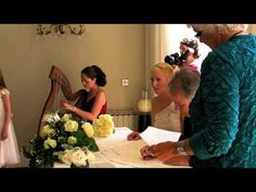Popular wedding music on celtic harp