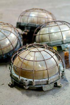 Vintage industrial factory lights | lighting