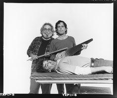 Jerry Garcia, Bob Weir, and Mickey Hart