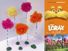 Get Creative with The Lorax.  Trees