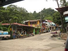 Montezuma, Costa Rica. (That's the whole town other than the street leading out of the right side of this picture)    A MUST GO!