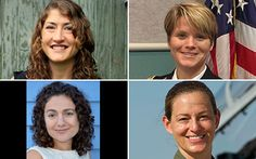 Nasa selects record number of women for astronaut trainee class - Telegraph Nasa's female astronauts: (l) to (r) and clockwise: Christina Hammock, Anne McClain, Nicole Aunapu Mann and Jessica Meir