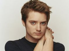 I enjoy looking at Elijah Wood, because it's like looking at myself with a Y chromosome and bigger eyes.