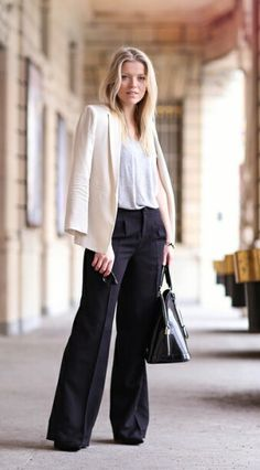 Classy / Chic / B&W / Work outfit PS I LOVE FASHION