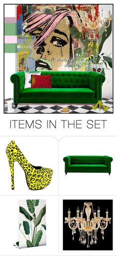 """back to work"" by greeneyz ❤ liked on Polyvore featuring art"