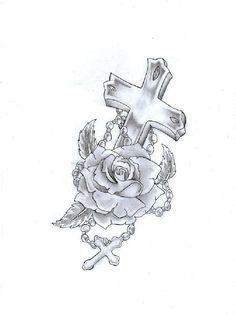 cross-and-praying-hands-tattoo-1179650759.jpg (768×1024)