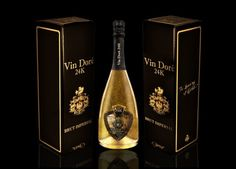 Welcome New Year With Vin Doré's 24K Gold Dust Infused Cava And Sparkling Wine