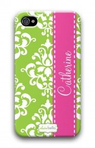 Damask Green mycustomcase.com