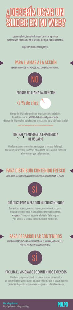 ★ Sliders en diseño de pagina web. #sliders #diseñoweb