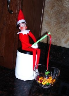 Elf on a Shelf Ideas by tammy
