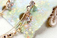 露天拍賣 日本究極!日本製【華麗輕舞 美人流蘇 施華洛世奇水晶 綴珠 垂墜感】夾式耳環 項鏈