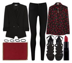 street style by sisaez on Polyvore featuring polyvore, moda, style, Yves Saint Laurent, Helmut Lang, Oasis, Reiss and Vitaly