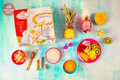 #Exotische #Kuchen, #Früchte #Torte, #Sommer #Kokos #coppenrathundwiese #Käsesahnetorte#tropical #fruit #cake #flamingo #tropicana #summer
