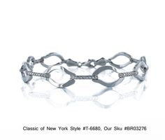Sterling Silver Oval and CZ Bar Link Tennis Bracelet Classics of NY T 6680 $123.00 | eBay http://www.ebay.com/itm/Sterling-Silver-Oval-and-CZ-Bar-Link-Tennis-Bracelet-Classics-NY-T-6680-/271083882751?pt=Fashion_Jewelry=item3f1ddbc8ff